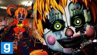PLAY AS FNAF 6 ANIMATRONICS! || GMOD FNAF (Five Nights at Freddys 6 Pill Pack Garrys Mod)