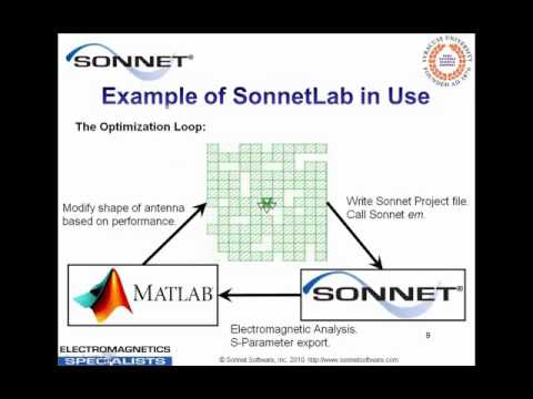 Introduction to SonnetLab Toolbox for MATLAB