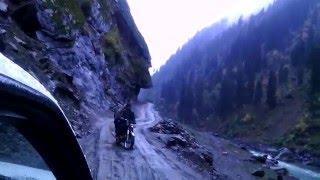 neelam valley dangerous road