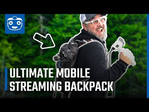 Mobile Live Streaming Backpack For IRL