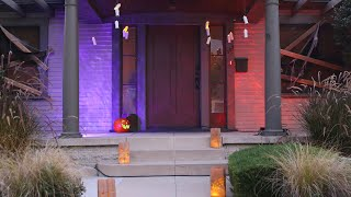 Easy DIYs To Upgrade Your Halloween Curb Appeal