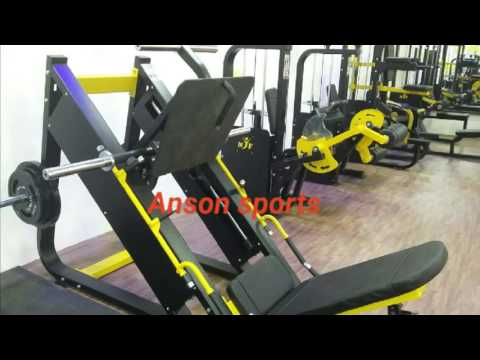 Anson sports gym equipments fitness machines manufacturers in punjab