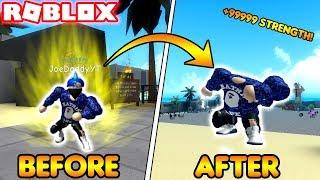 COME OTTENERE ISTANTANEAMENTE MAX FORZA! (Simulatore di sollevamento pesi ROBLOX 3)