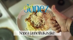 Chef Jonez - Helppo jauhelihakastike