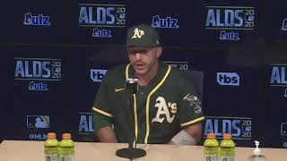 Ramón Laureano on Oakland A's disappointing playoff elimination to Houston Astros in ALDS Game 4