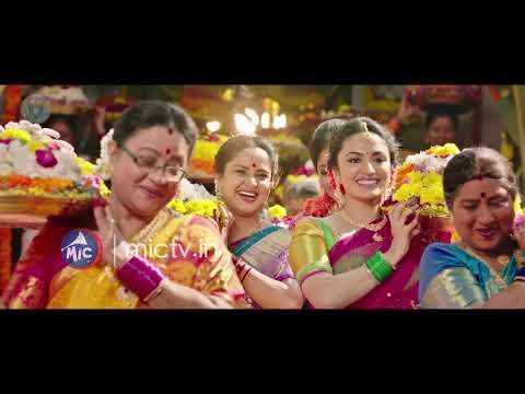 Telugu Top Actors Bathukamma Song||Regina,Suma||song By Mangli|