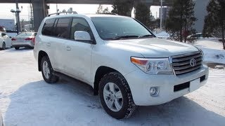 2013 TOYOTA LAND CRUISER - Exterior & Interior