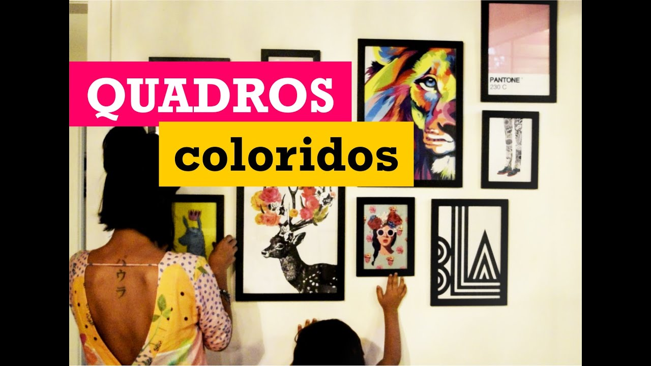 Quadros coloridos - YouTube