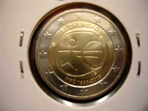first slovak commemorative 2 euro coin