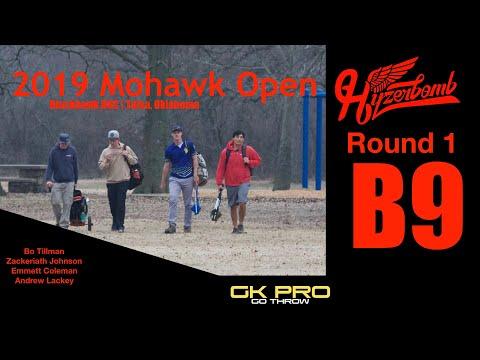 2019 Mohawk Open   RD1, B9, MPO   Tillman, Johnson, Coleman, Lackey