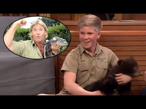 Thumbnail: Robert Irwin Channels His Late Father Steve by Showing Off Exotic Animals on 'Tonight Show'