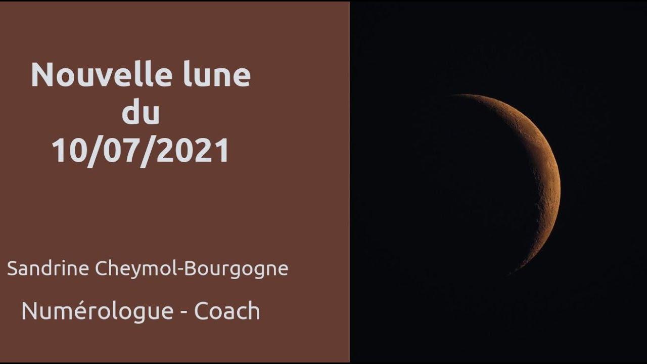 La nouvelle lune du 10 juillet 2021 en numérologie
