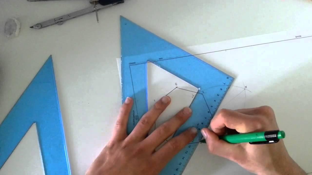 05 costruzione di un ettagono dato il lato e inscritto for Costruzione ottagono dato il lato