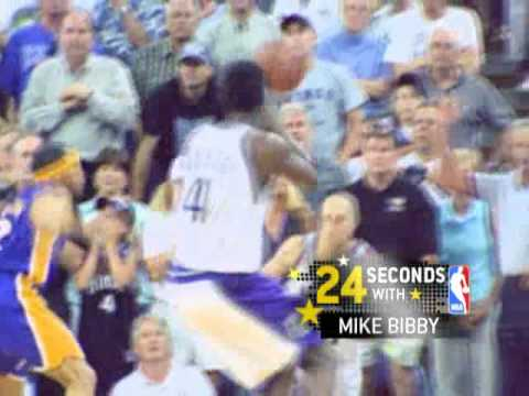 Mike Bibby on his best playoff moment