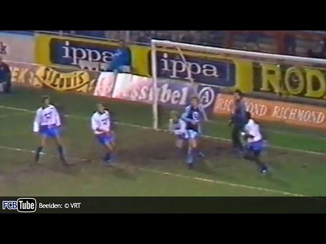 1987-1988 - Jupiler Pro League - 18. Club Brugge - AA Gent 2-1