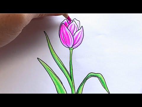 Malen lernen: Blumen