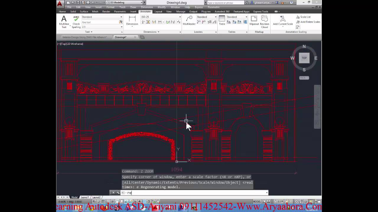 Learning Classic Interior Design Using Revit Part 1 HD