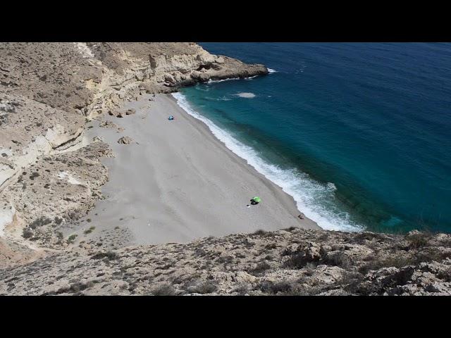 Cala de las Salinicas, Playas del Cabo de Gata (alternativa playa de los muertos)