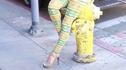 Dresden Green leggings @ KlassyKassy.com