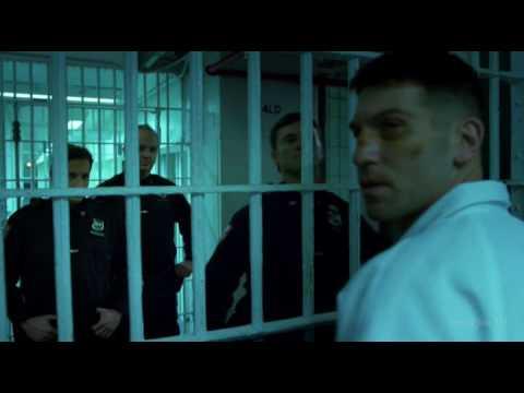 Драка Карателя с заключенными. Сорвиголова.