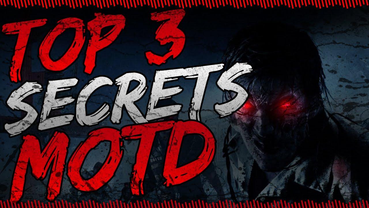 Top 3 tricks secrets mob of the dead quot motd easter eggs quot youtube