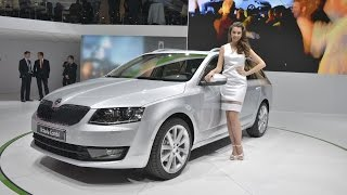 New Cars ,, Promoted Skoda Octavia ,,,, Auto Show