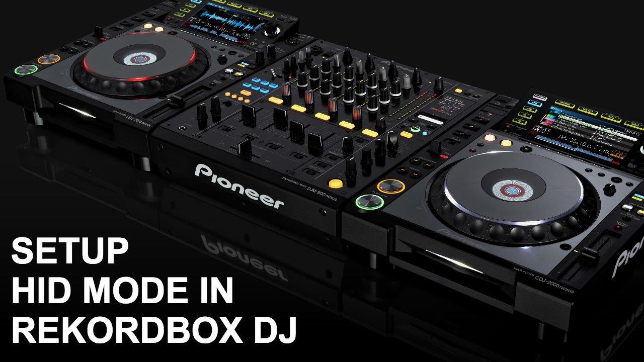 Rekordbox DJ - HOW TO SETUP HID MODE