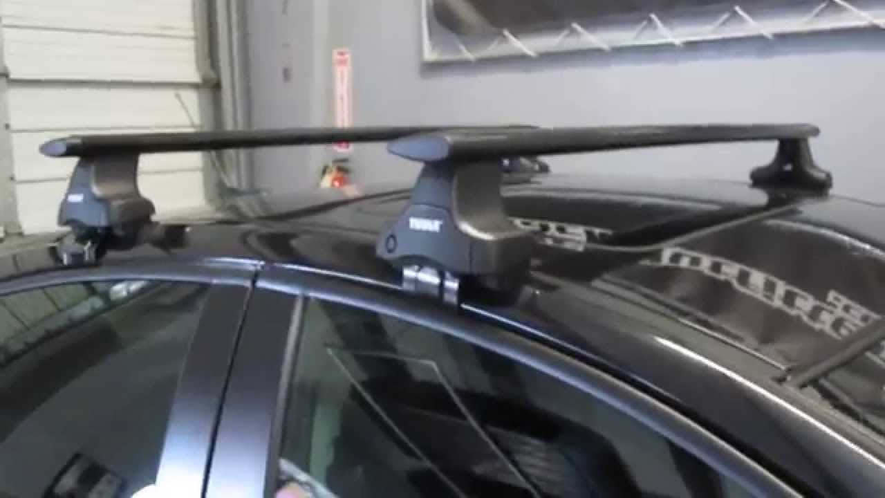 2012 Chevy Cruze with Thule 480R Traverse Black AeroBlade