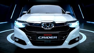 All-new HONDA CRIDER (2021) - Perfect Sedan!