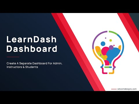 LearnDash Dashboard | Separate Instructor, Group Leader, Student and Admin Dashboard | WordPress LMS