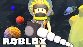 WE COLLECT THE HEARTS OF PLANETS! IN SPACESHIP MODE! -ROBLOX