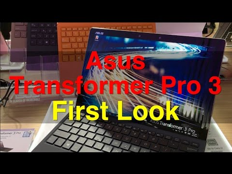 Asus Transformer Pro 3 First Look | Digit.in