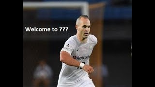 Andres Iniesta - Best Skills - Welcome J League - Vissel Kobe