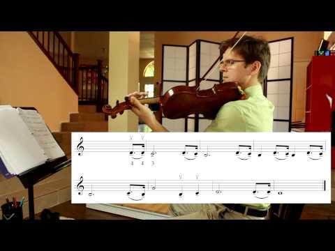 "Finger Pressure: ""Taps"" Bugle Call in Natural Harmonics"