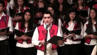 """Andrew Andraos singing """"في حفل تكريم الفنان الكبير الراحل نصري شمس الدين """"منتزاعل ومنرضى"""