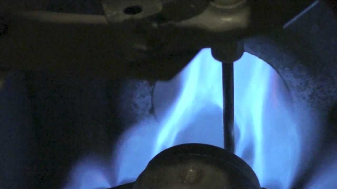 How Does The Gas Furnace Flame Rod Work Youtube