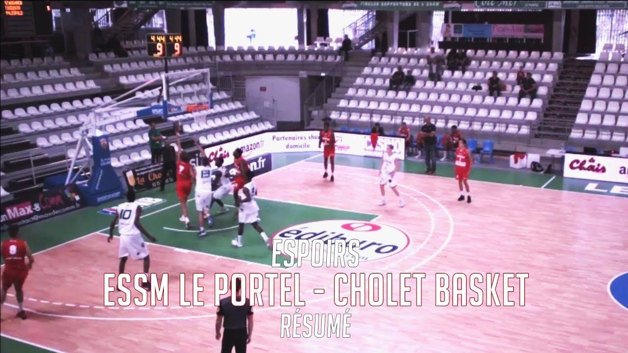 u21 essm le portel - cholet basket  r u00e9sum u00e9 du match