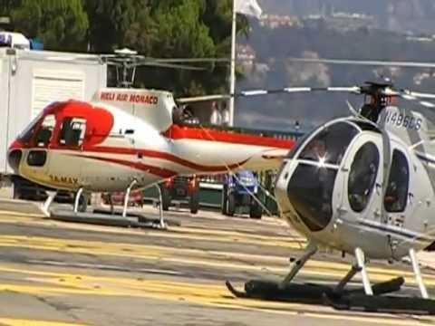 Monaco Heliport,Summer 2012
