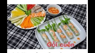 ăn Thử Món Gỏi Cuốn ở Sóc Trăng NTN