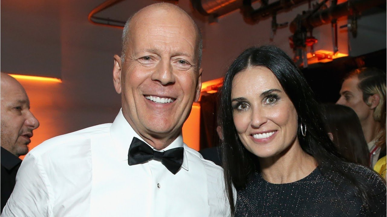 The Reason Bruce Willis Quarantines With Demi Moore And Not His ...