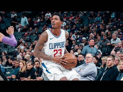 Lou Williams 30 Pts! Tyrone Wallace Clutch Steal and Dunk! 2017-18 Season