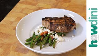 How to make Mediterranean pork and green beans