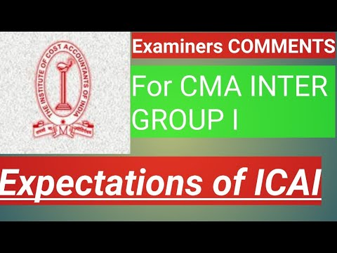 VIMP EXPECTATION OF EXAMINER INTER GROUP I