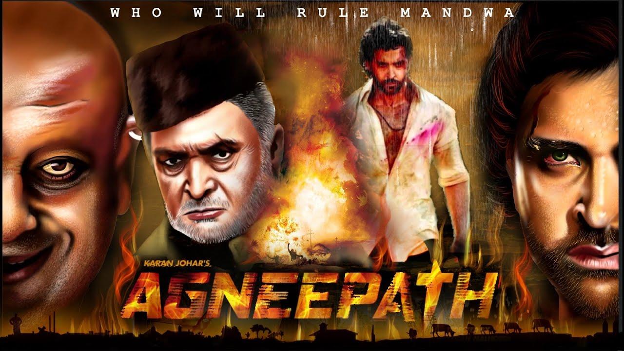 AGNEEPATH 2012 HD | Hrithik Roshan | Sanjay Dutt | Rishi Kapoor | Priyanka  Chopra | Digital Art - YouTube