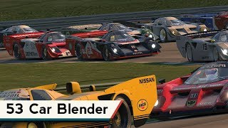 iRacing : 53 Car Blender [VR] (Kamel GT @ Lime Rock Park)