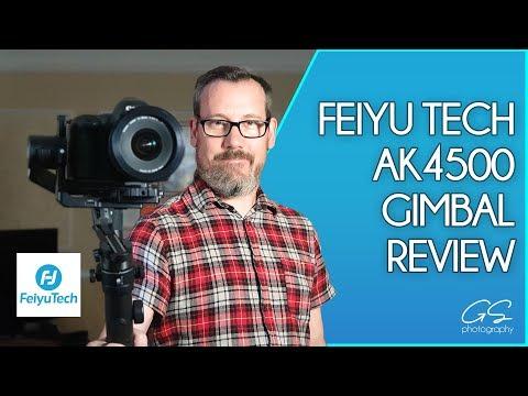 Feiyu Tech AK4500 gimbal review #feiyu #AK4500