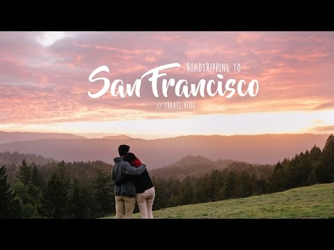 Roadtripping to San Francisco // USA ✈ Travel Vlog