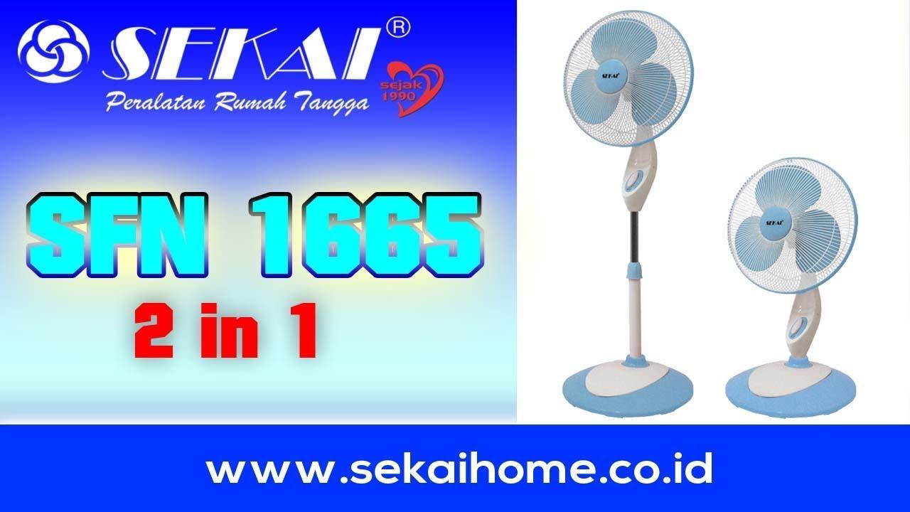 Sekai Kipas Angin Tumpu 2 In 1 Sfn 1665 Daftar Update Harga 1609 Fitur Dan Spesifikasi Info