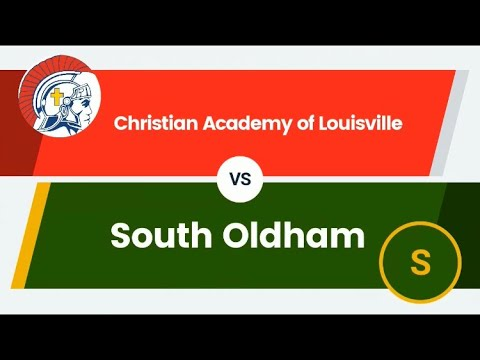 Christian Academy of Louisville Vs South Oldham Football Highlights 2019