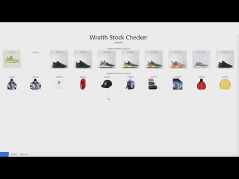barato un millón Del Sur  Supreme / Adidas Stock Checker [Wraith] - YouTube